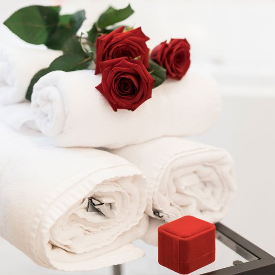 Pack romántico para dos personas